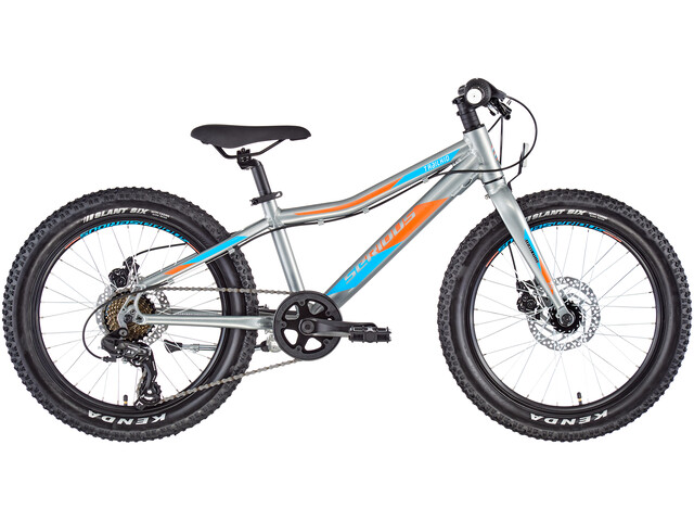 "Serious Trailkid 20"" Niños, red/grey"